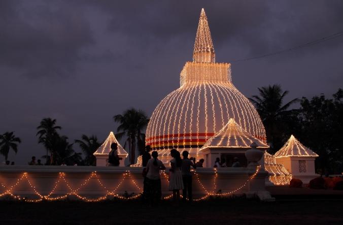 Fairy Lit Temple