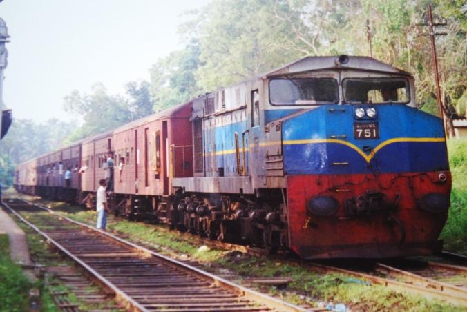 Sri Lankan Train